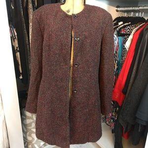 Jones New York Wool Blend Coat/Jacket